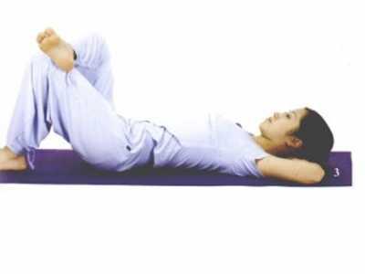 减肚子的运动方法动态 四套动作减去腹部赘肉